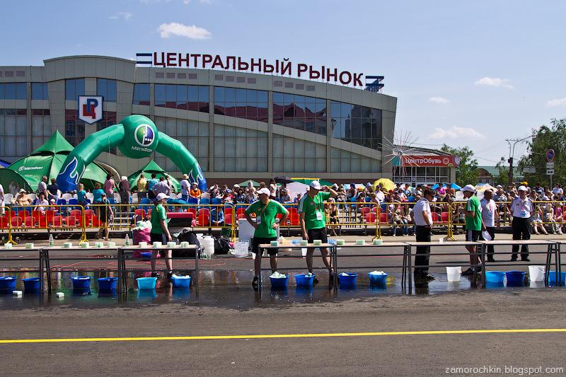 День выдался жаркий Кубок Мира по Спортивной ходьбе Саранск 2012