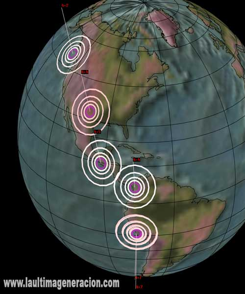Serie de sismos mueven América