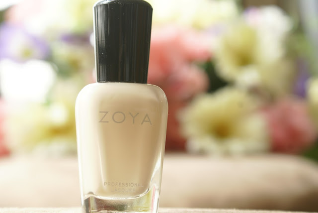NOTD, Beauty Blogger, bblogger, bblogers, blog, zoya, nude, cream,