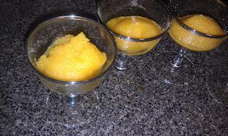 Mango Margarita Sorbet