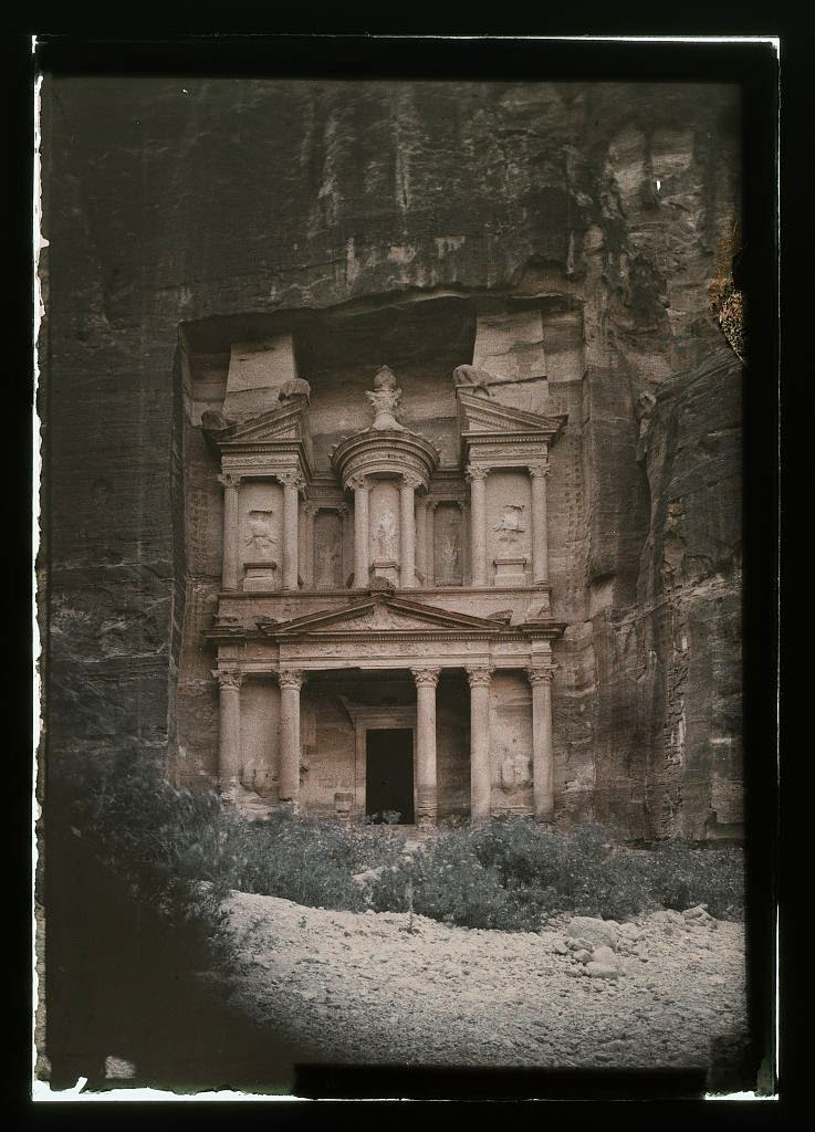Petra in Early Colour