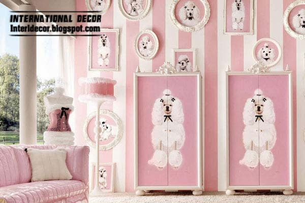 Pink girls bedroom modern design ideas 2014Interior Design 2014  15 Pink Girl s bedroom 2014   Inspire pink  . Girl Bedroom Design 2014. Home Design Ideas