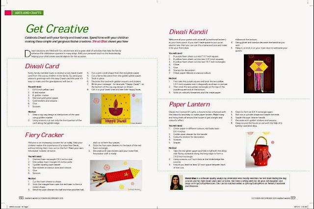 Diwali Mothers world artsycraftsymom