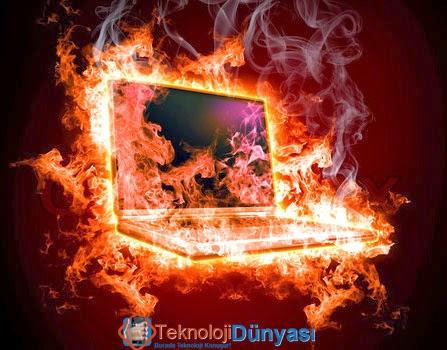laptop ısınıyor notebooklarda ısınma sorunu