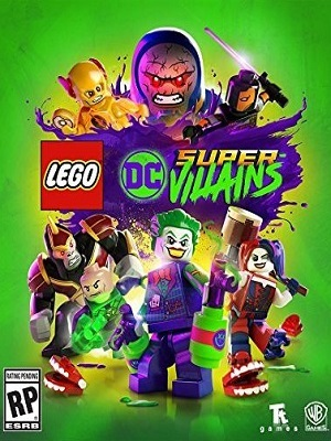 Lego DC Super-Villains Jogos Torrent Download capa