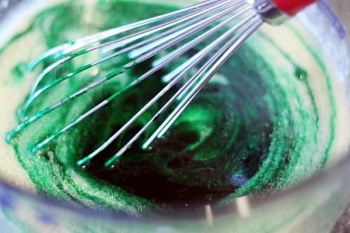 Creative Party Ideas by Cheryl: Lucky Green Velvet Cake ...