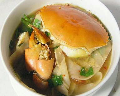 Cách nấu Cua biển nấu măng chua ngon