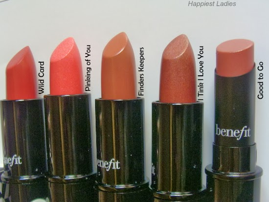 Benefit Lipsticks