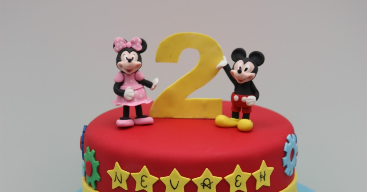 Whimsical by Design: Mickey Mouse Clubhouse Cake