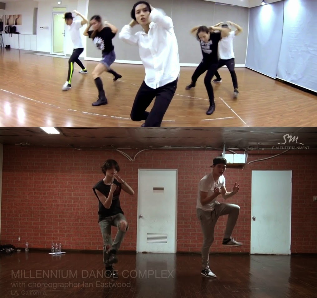 Taemin releases 'Danger' dance practice video with Ian Eastwood