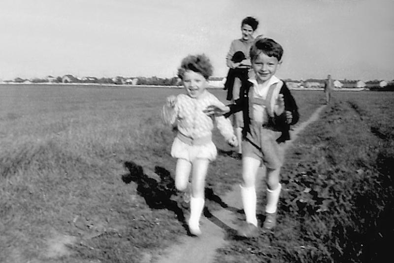 Já s bratrem zhruba v roce 1959