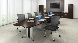 Powered Conference Table