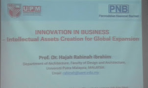 INNOVATION IN BUSINESS. Organised by UPM & PNB RI