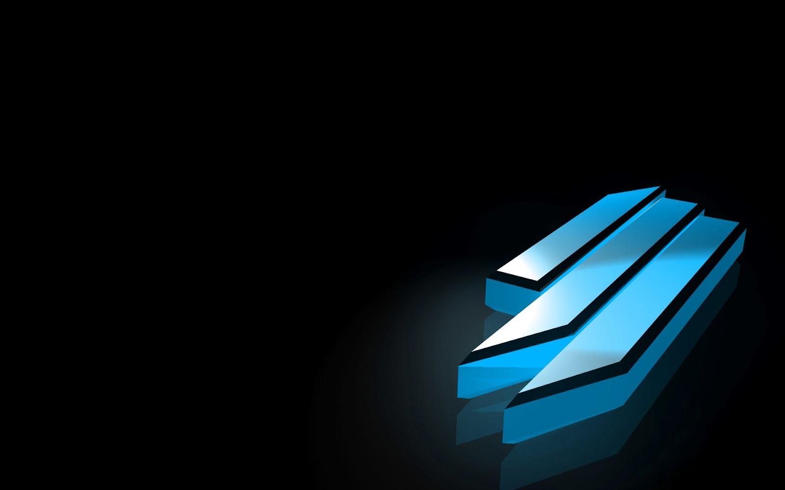 Blue Skrillex Logo Wallpaper
