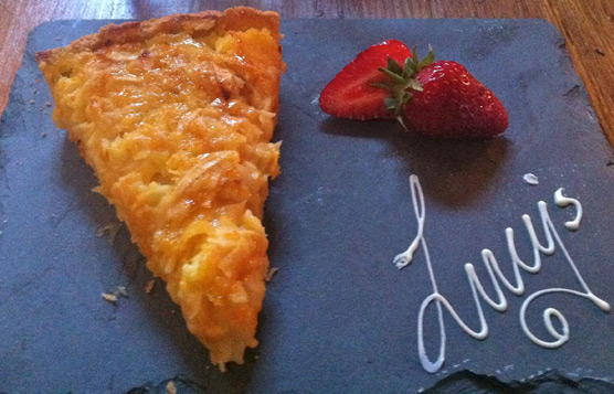 Lucy's of Ambleside Up the Duff Pudding Club - Buckingham Palace Tart