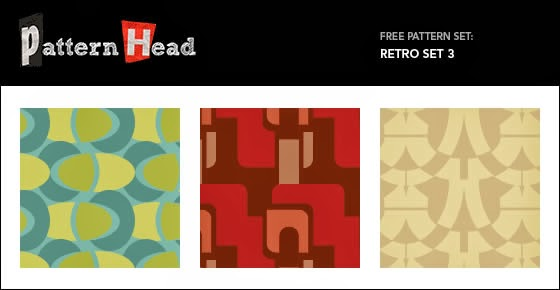 Vector and Pixel Patterns – Retro Set 3