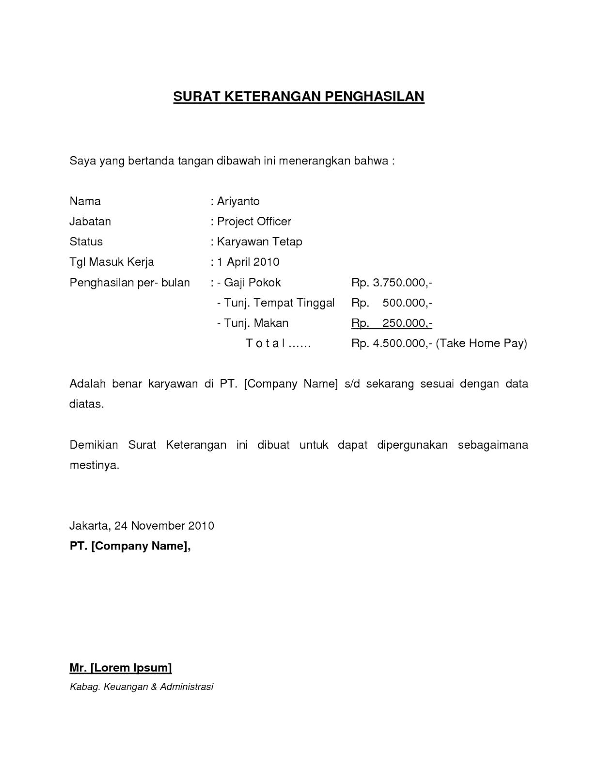 Smks Bani Sueb Tarahan Npsn 69772955 Contoh Surat Referensi Kerja