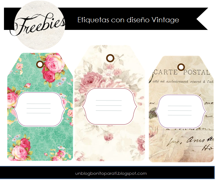Freebies etiquetas handmade mi diamante azul for Diseno de etiquetas