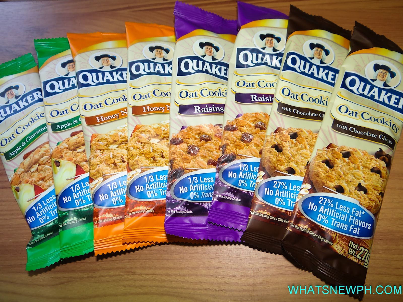 Quaker Oatmeal Cookies baked to excell...