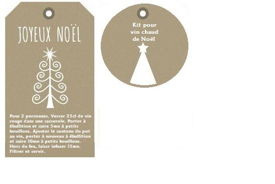Gut gemocht Papilles On/Off: Kit SOS verres de vin chaud de Noël - Cadeau  UE12