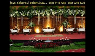 Jasa Dekorasi Pernikahan Di Gedung Menara 165