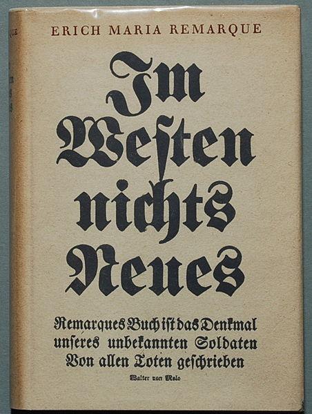 Im Westen nichts Neues (Sin novedad en el frente)