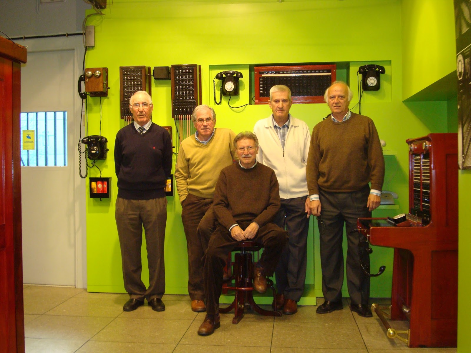 Grupo Fundador del Museo.
