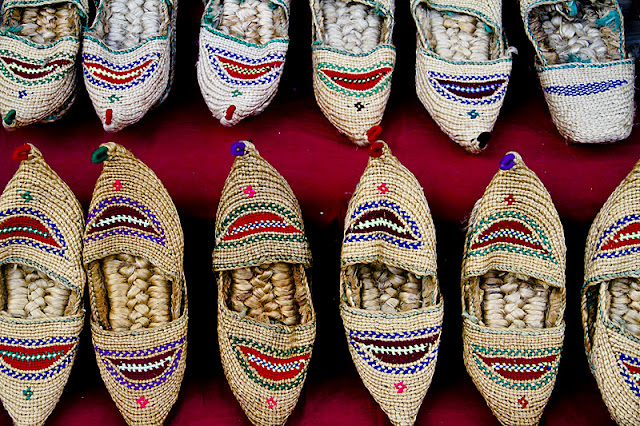 Nepal, shoes, handmade, woven, ethnic style, traditional culture, wandering style, Kathmandu