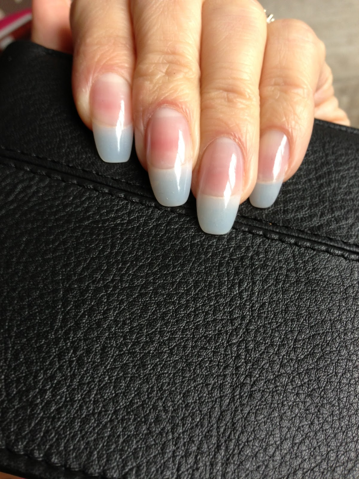 Clear Natural Tip With A Gel Overlay Very Look An Option To Paint It Any Color Or Design You Want