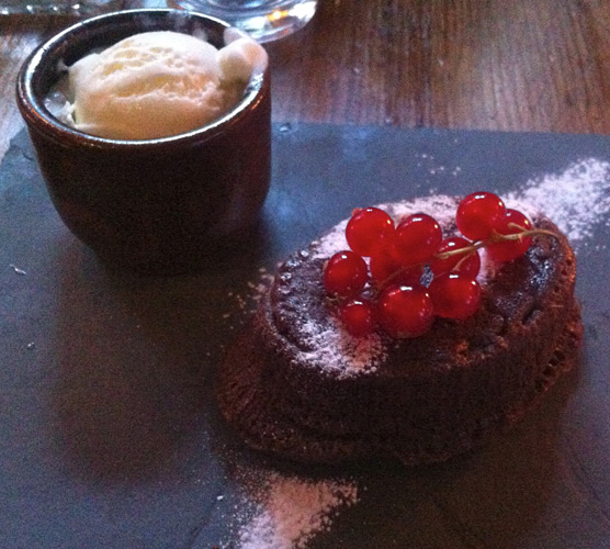Lucy's of Ambleside Up the Duff Pudding Club - Hot Chocolate Fondant