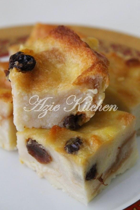 Puding Roti Nur Qaseh Yang Sedap Azie Kitchen