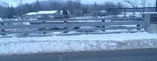 image Omemee Bridge Snow covered