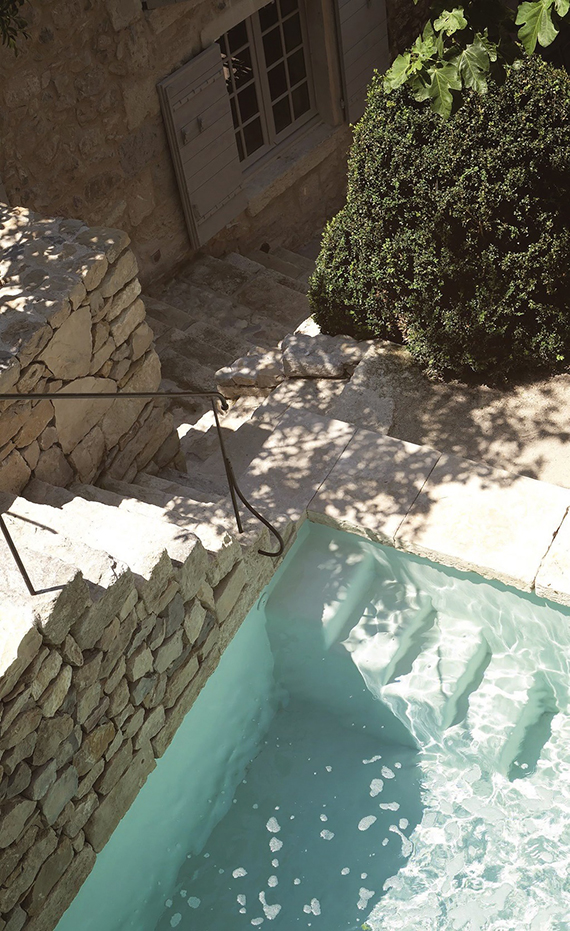 A renovated stone house in Provence | Image by Pierrick Verny for Côté Maison