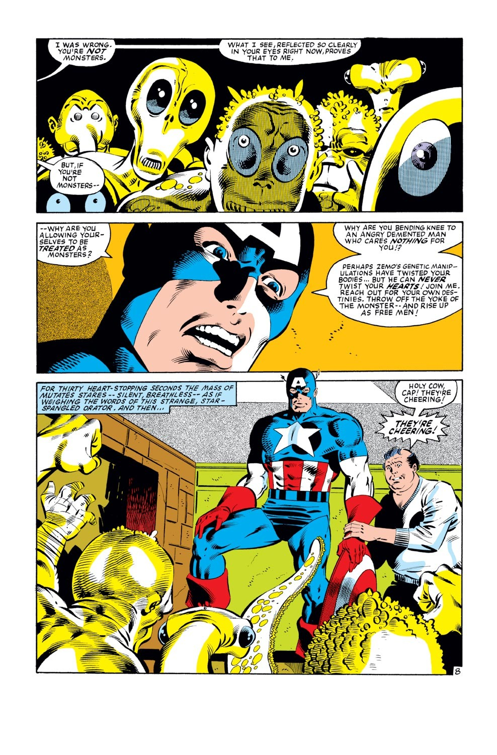 Captain America (1968) Issue #278 #194 - English 9