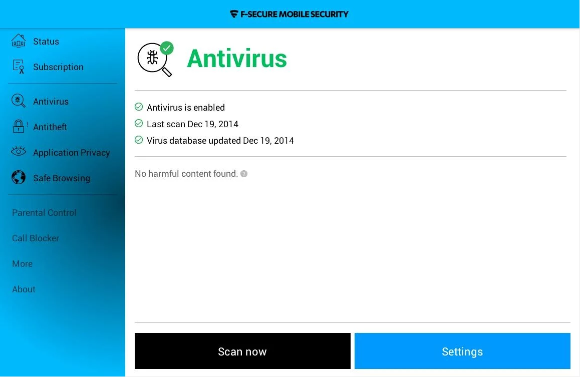 F-Secure Mobile Security APK Download for Android Apps