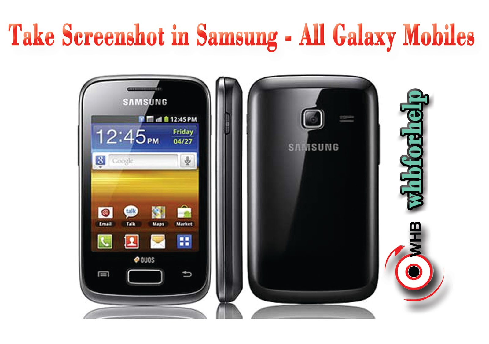 how to take screenshot in samsung mobile