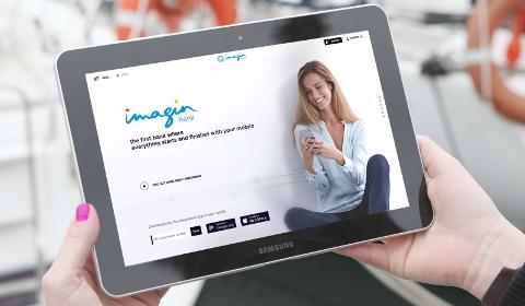 imaginBank sur tablette