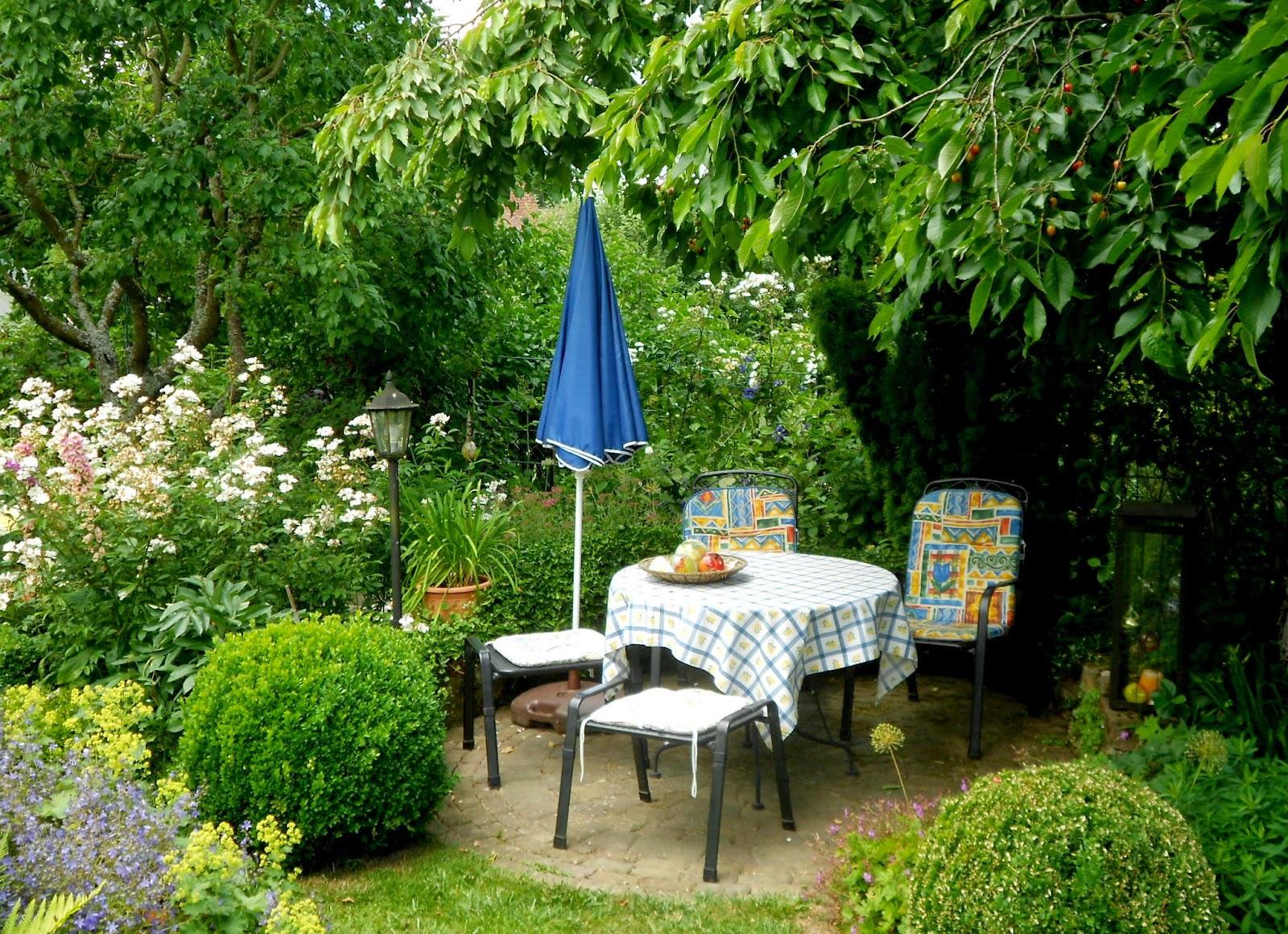Ländlicher Garten