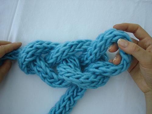 Hand Knitting Patterns Free : finger knitting-Knitting Gallery
