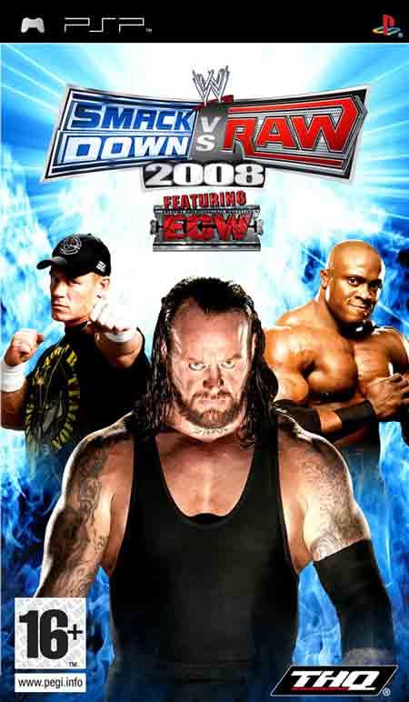 WWE Smackdown Vs. Raw 2008 PSP