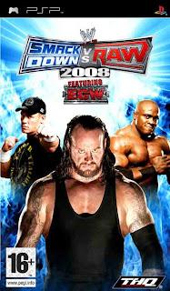 WWE SmackDown vs. Raw 2008 PSP ISO Download ~ PSP ISO Roms DOWNLOAD