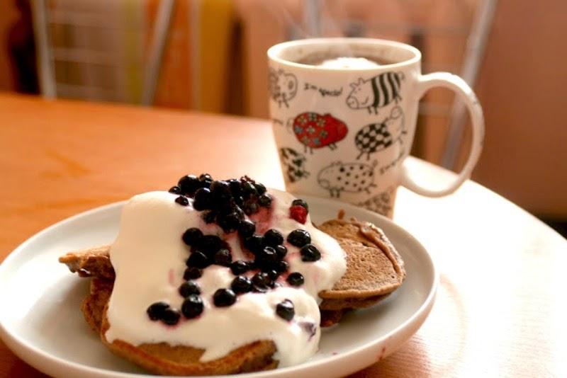 sunday treat coffee pancakes
