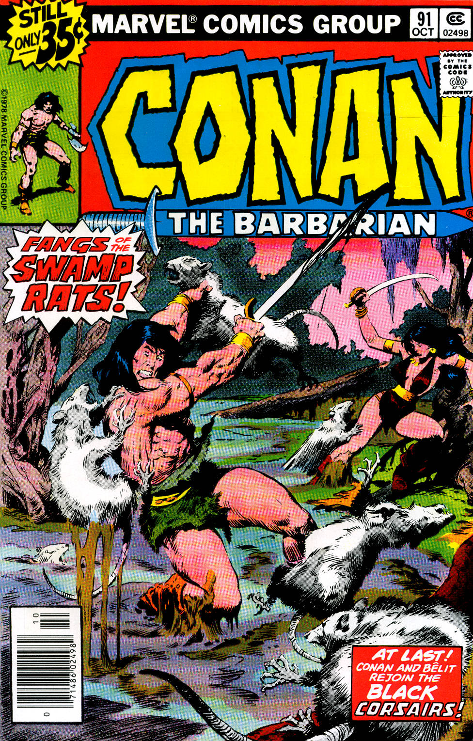 Conan the Barbarian (1970) Issue #91 #103 - English 1