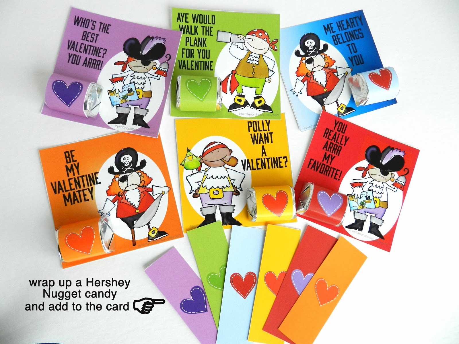 Valentines Day Cards the Boys Are Going to Love plus a Hershey – Boys Valentines Cards