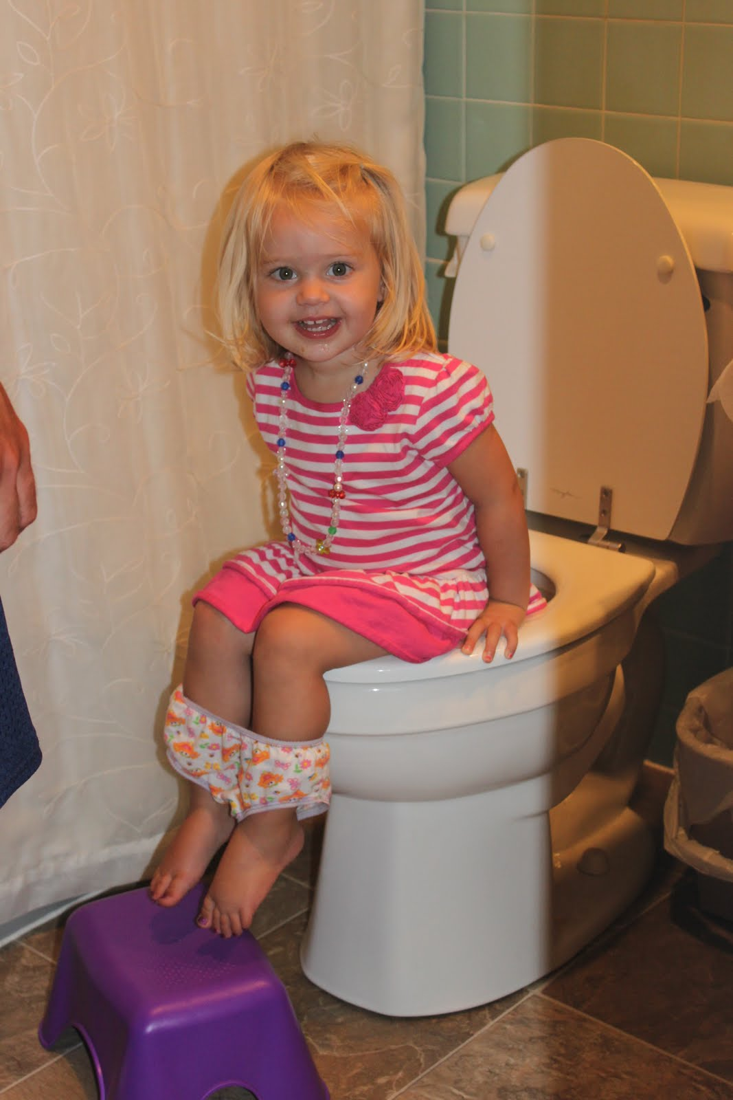 Dislikes must potty trainingafraid of peeing in the potty her