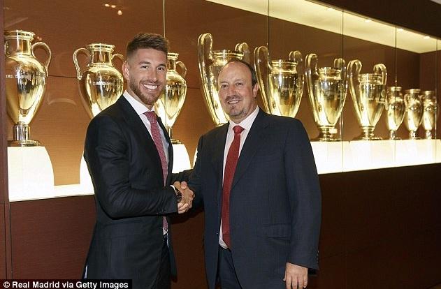 Ramos Dan Benites pasca kesepakatan baru di Real Madrid.