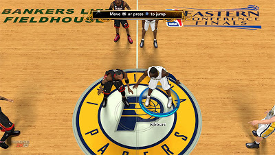 NBA 2K13 Indiana Pacers Playoffs Court Update