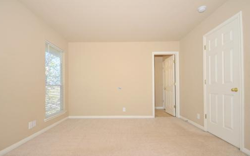 The ragged wren master bedroom makeover - Colors that go with tan walls ...