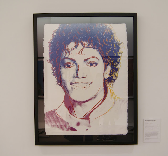 Andy Warhol: Revisited exhibit in Toronto, culture, exhibition, revolver gallery, paintings,ontario, canada, the purple scarf, melanieps, Michael Jackson