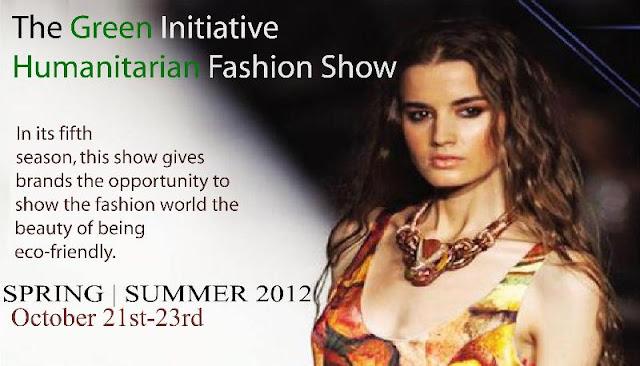 The Green Initiative Humanitarian Fashion Show